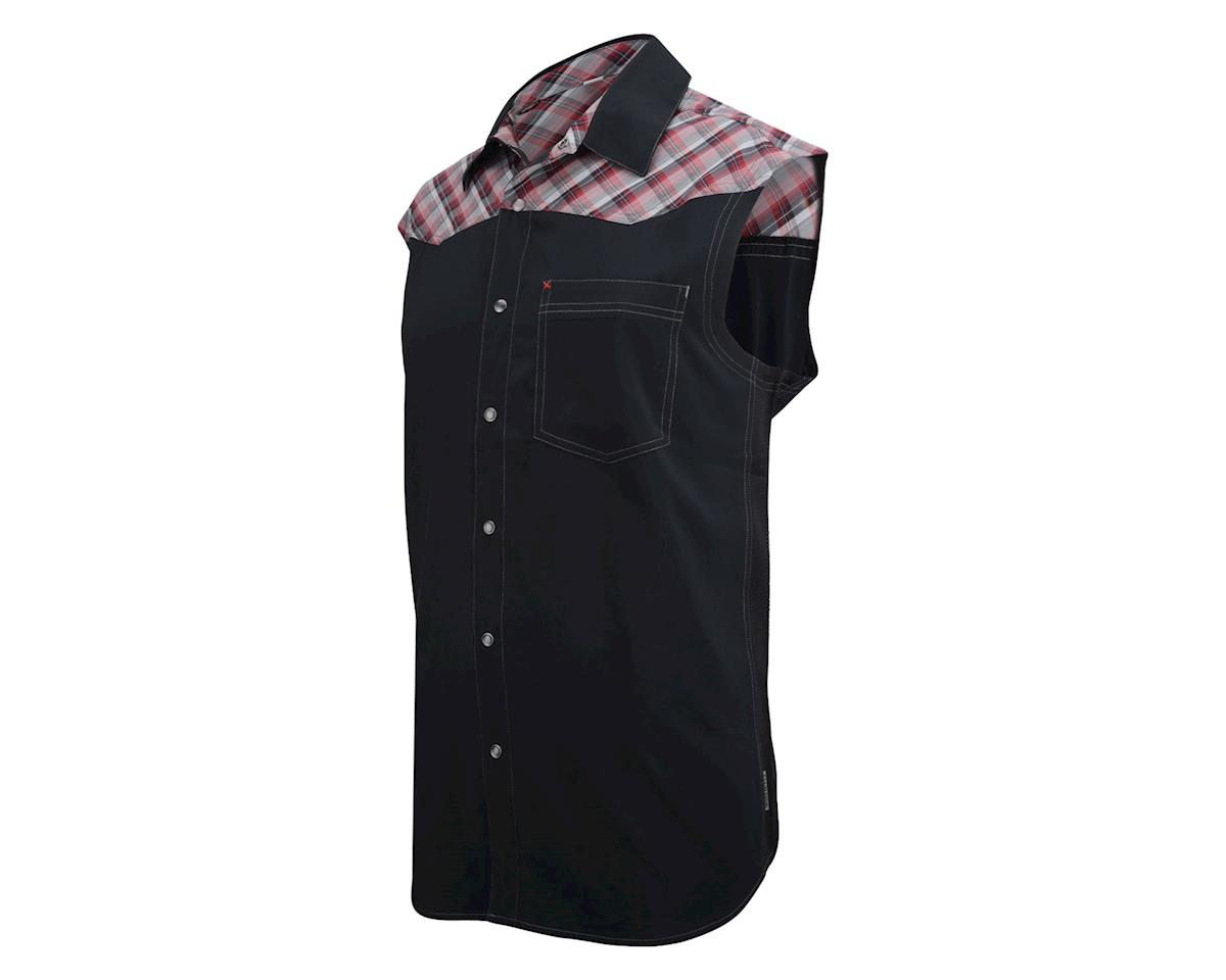 Club Ride Billy Bob Sleeveless Jersey (Red/Black)