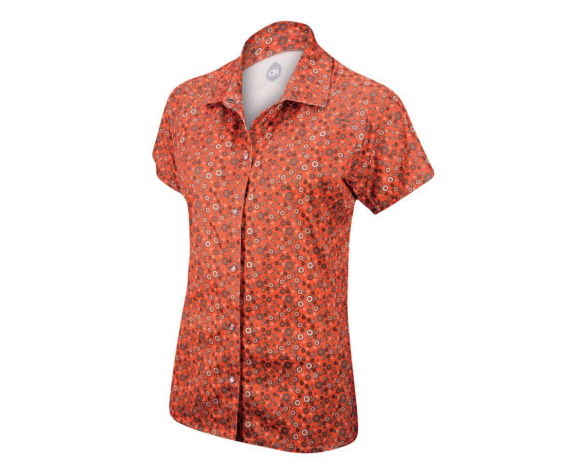 Club Ride Apparel Women's Bandara Short Sleeve Jersey (Red) (XS)