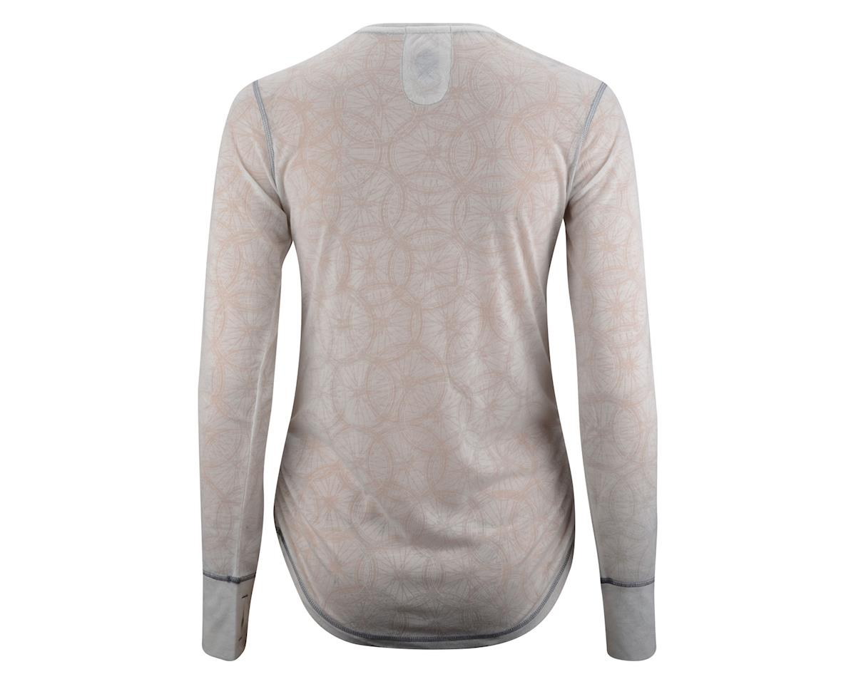 Club Ride Women's Wheel Clever Long Sleeve Jersey (White)