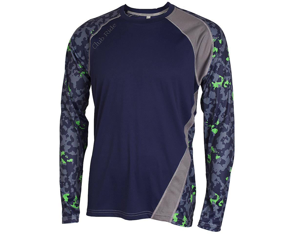 Image 1 for Club Ride Apparel Phantasm Long Sleeve Jersey (Cobalt)