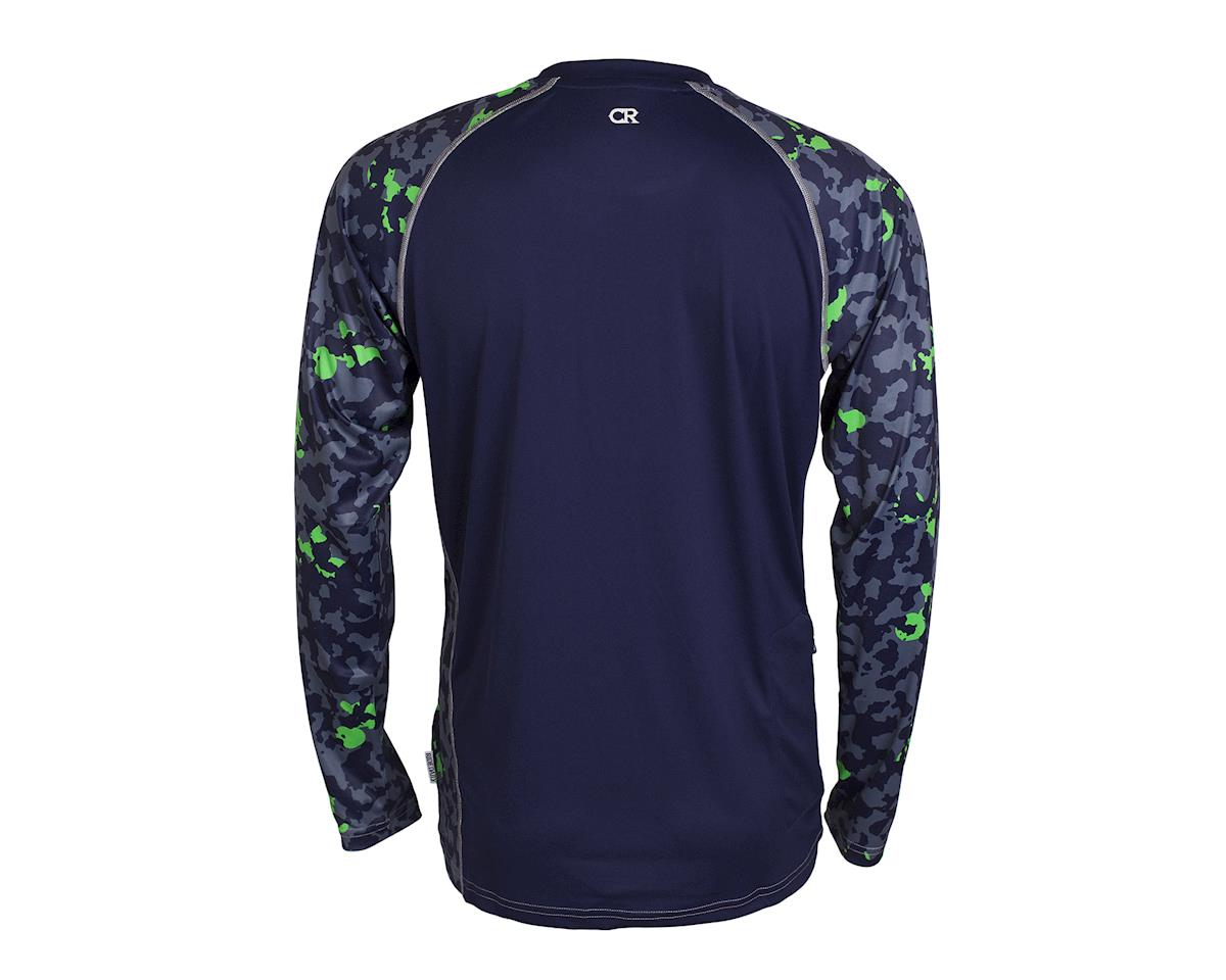 Image 2 for Club Ride Apparel Phantasm Long Sleeve Jersey (Cobalt)