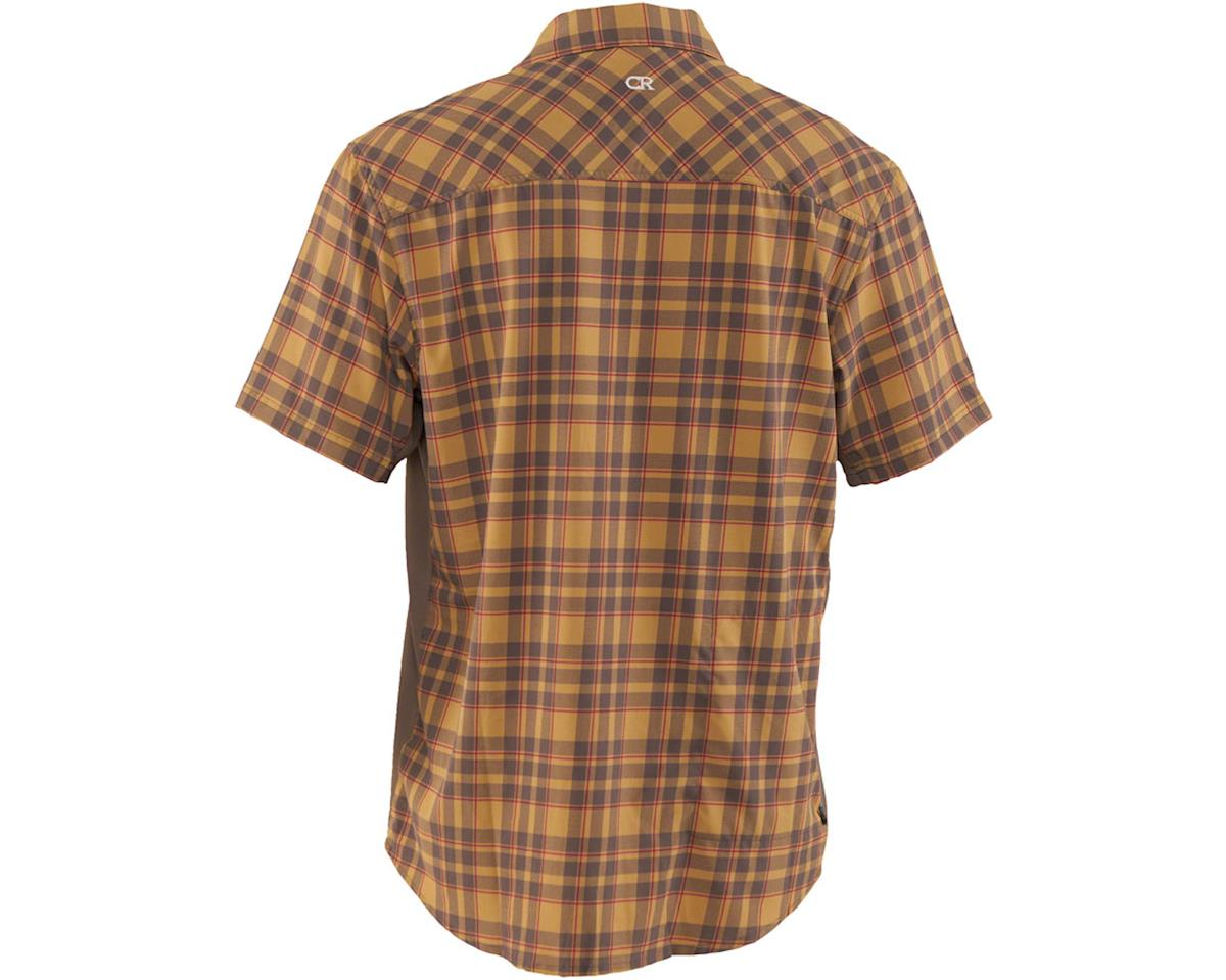 Image 2 for Club Ride Apparel Detour Short Sleeve Shirt (Khaki/Cayenne) (S)