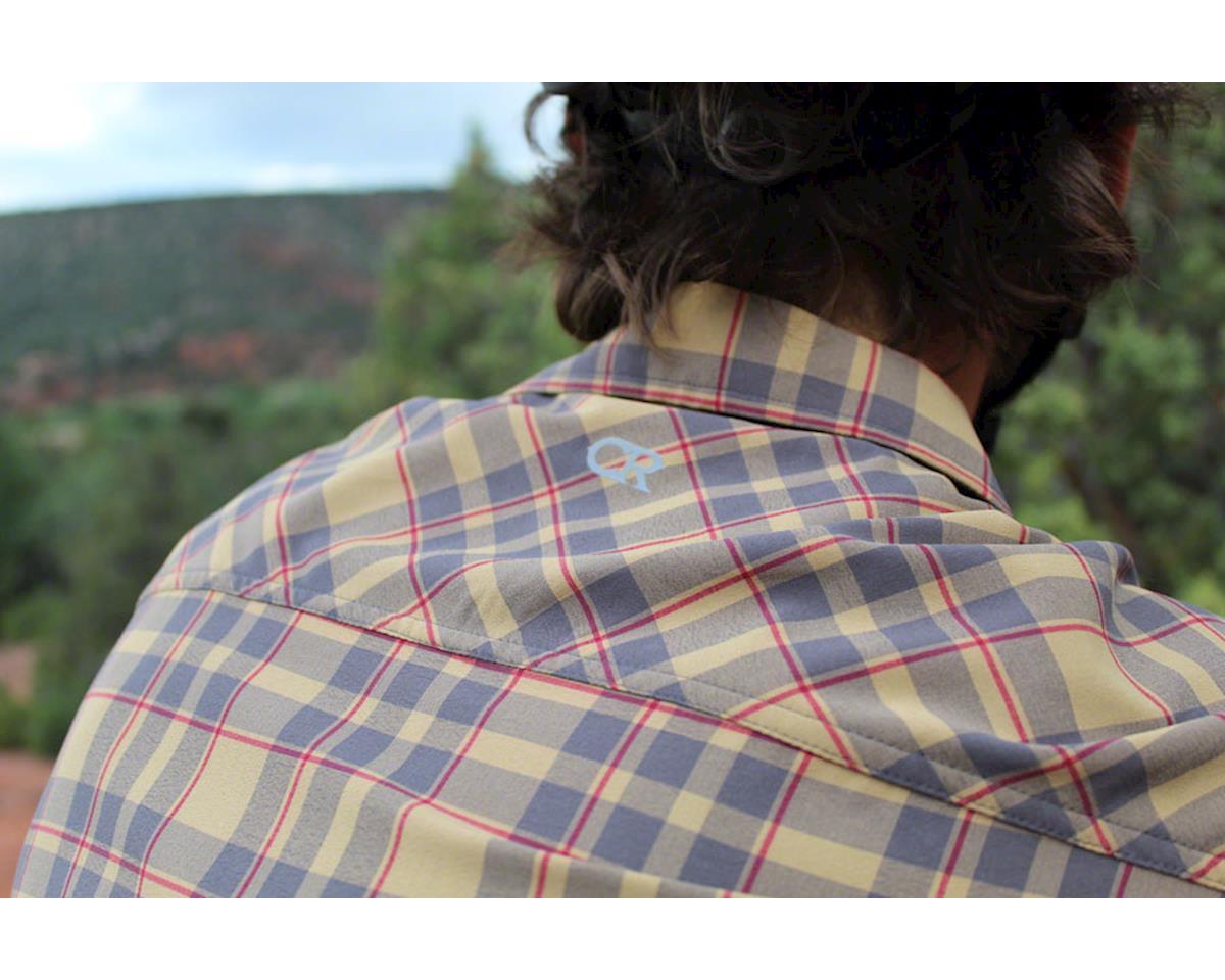 Image 4 for Club Ride Apparel Detour Short Sleeve Shirt (Khaki/Cayenne) (S)