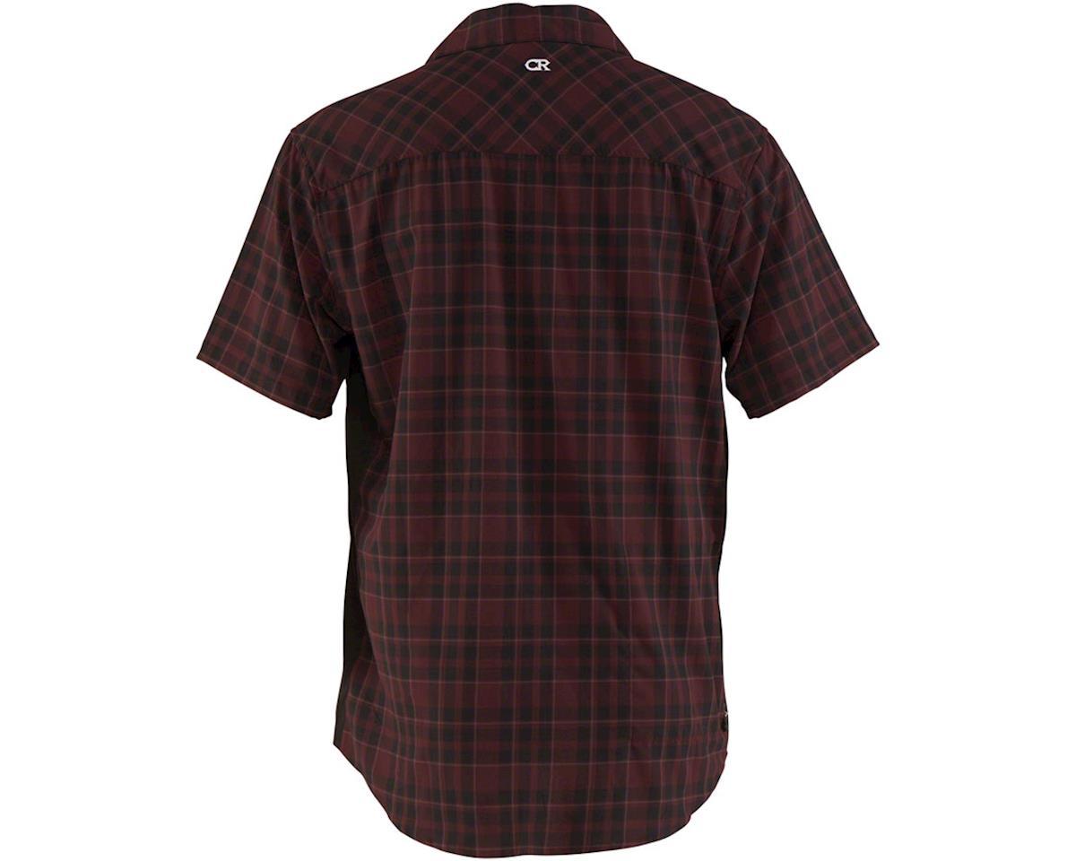 Image 2 for Club Ride Apparel Detour Short Sleeve Shirt (Merlot) (M)
