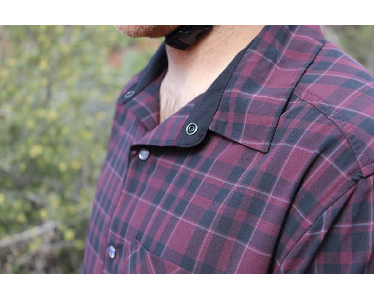 Image 3 for Club Ride Apparel Detour Short Sleeve Shirt (Merlot) (M)