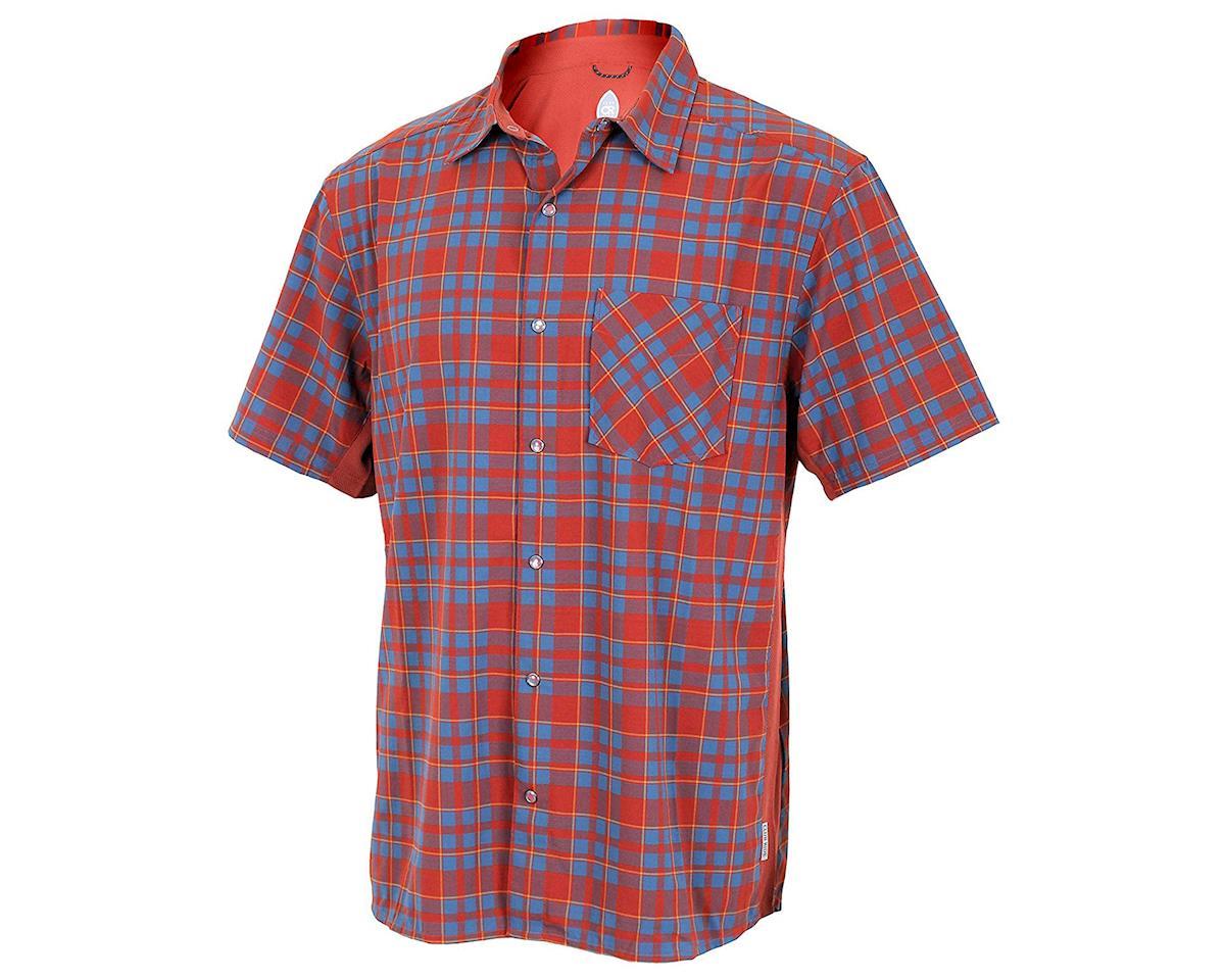 Club Ride Apparel Detour Short Sleeve Shirt (Rust) (M)