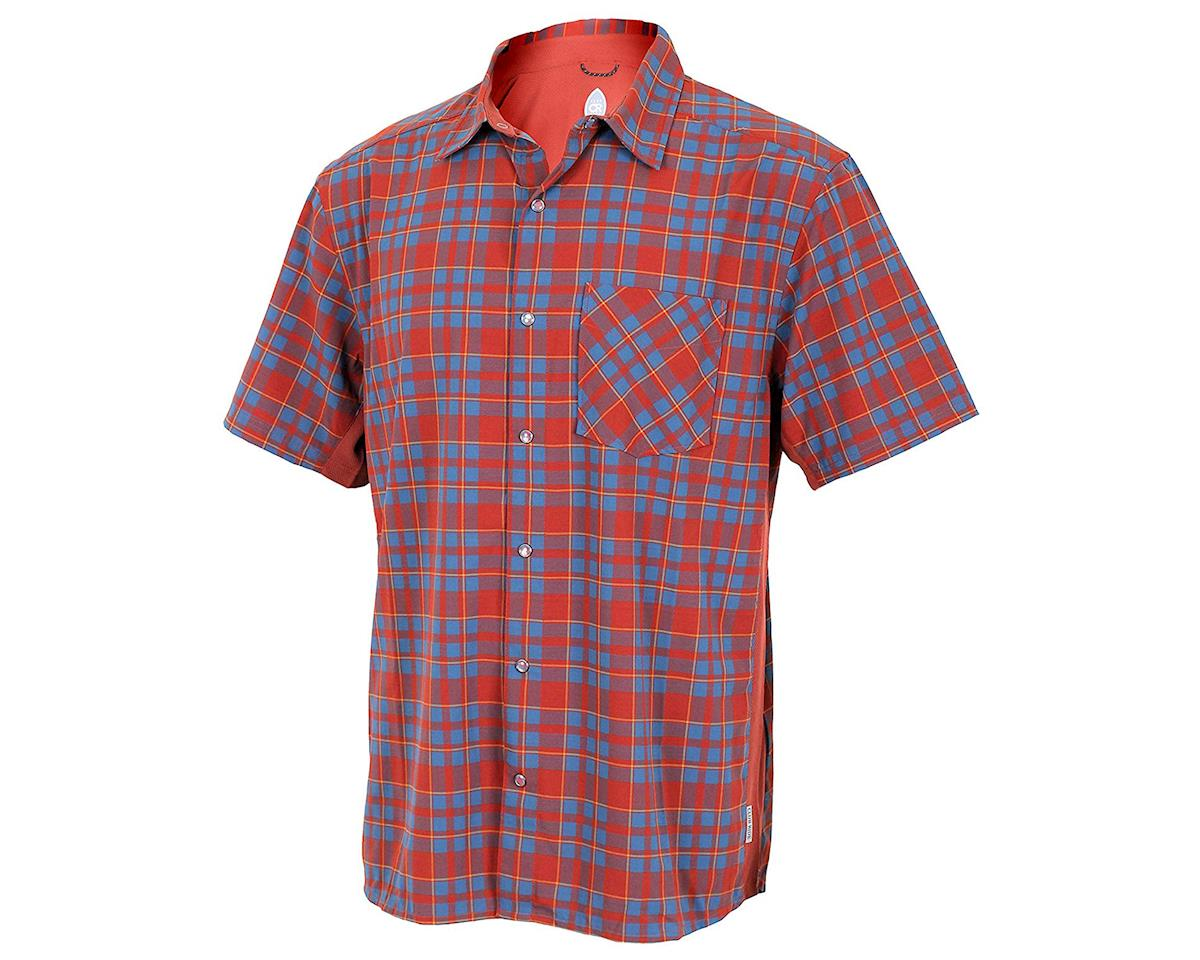 Club Ride Apparel Detour Short Sleeve Shirt (Rust) (S)