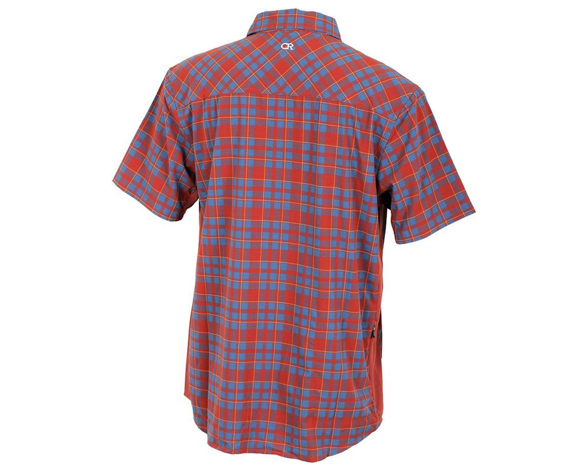 Club Ride Apparel Detour Short Sleeve Shirt (Rust) (2XL)