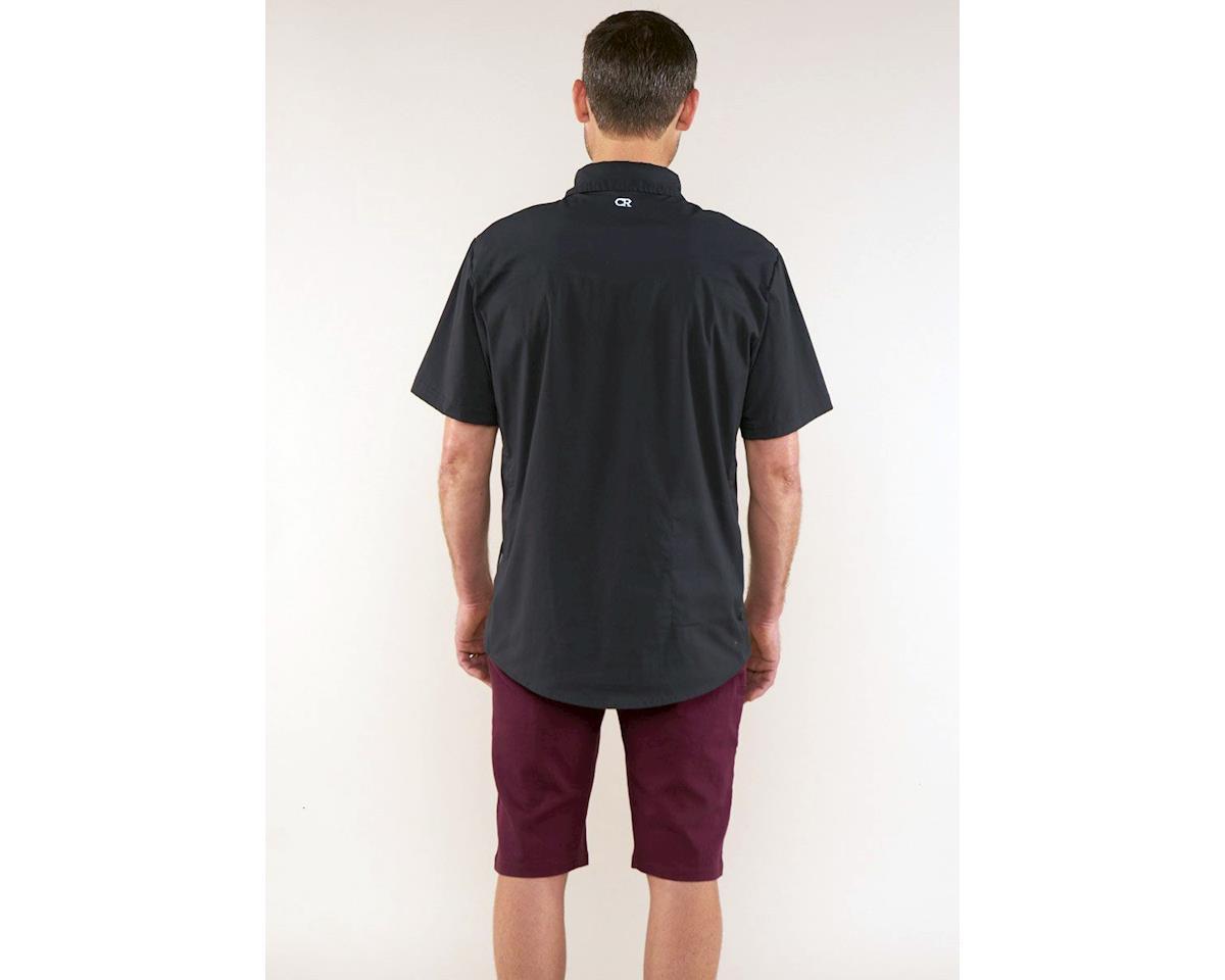 Image 2 for Club Ride Apparel Mag 7 Short Sleeve Shirt (Black) (XL)