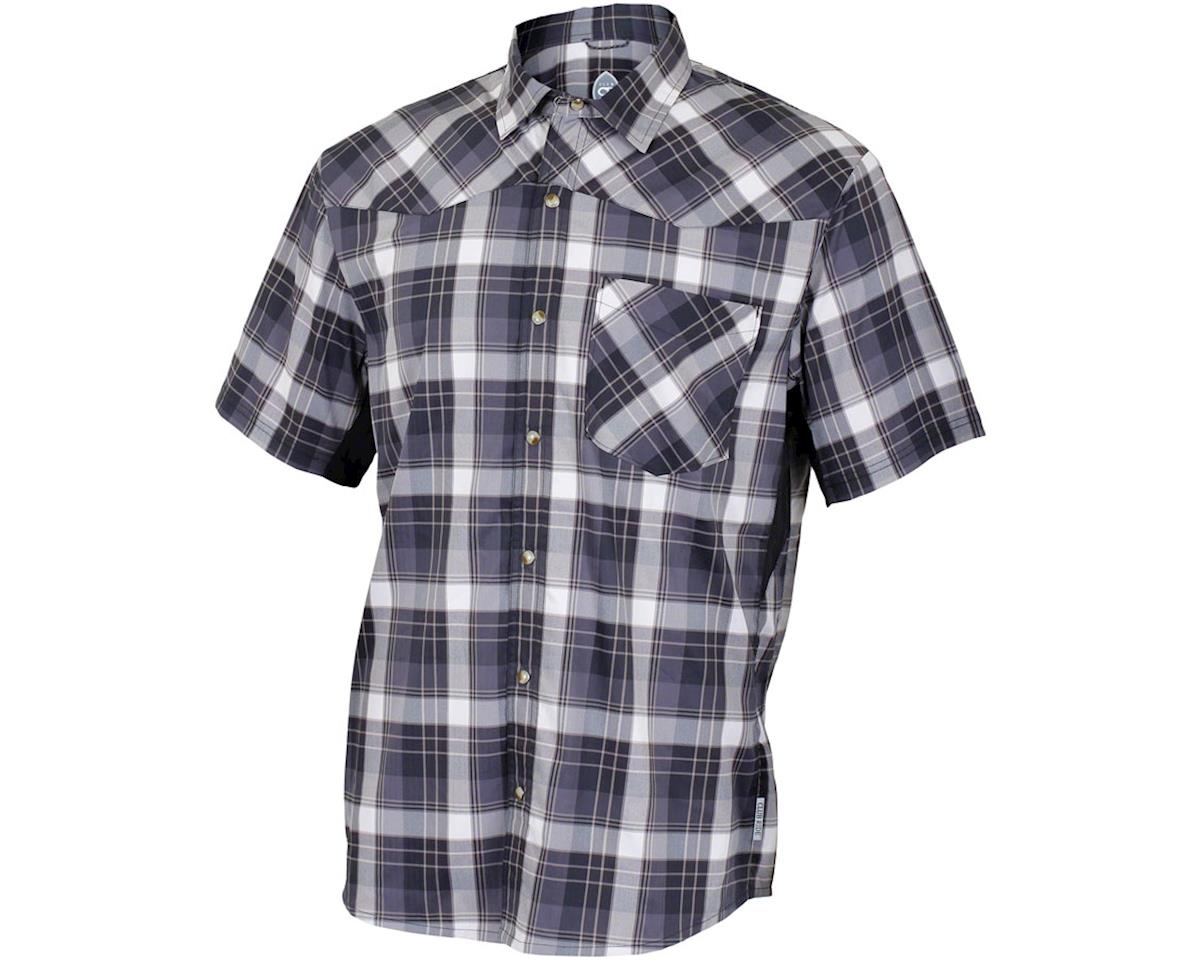 Club Ride Apparel New West Short Sleeve Shirt (Black) (M)