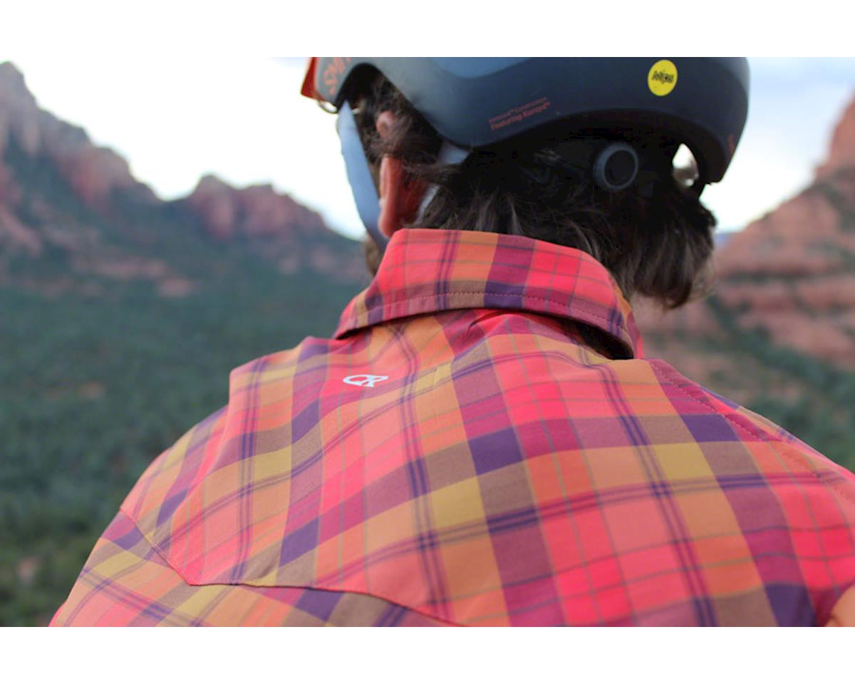 Image 4 for Club Ride Apparel New West Short Sleeve Shirt (Flame) (L)
