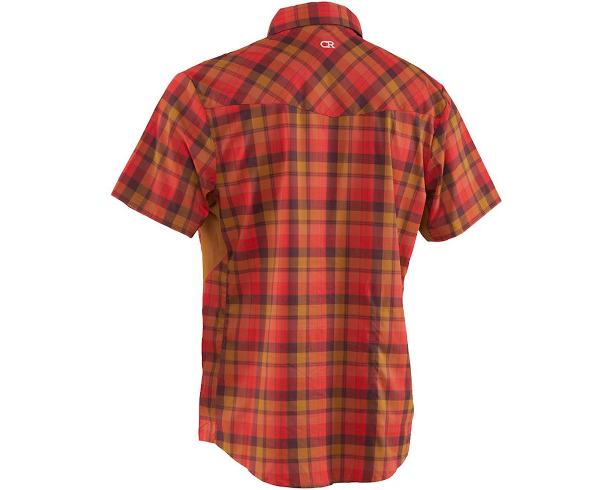 Image 2 for Club Ride Apparel New West Short Sleeve Shirt (Flame) (M)