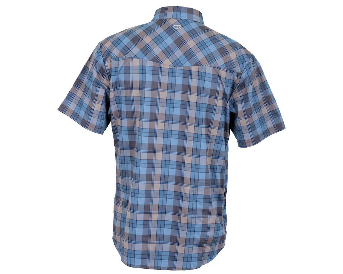 Club Ride Apparel New West Short Sleeve Shirt (Steel Blue) (L)