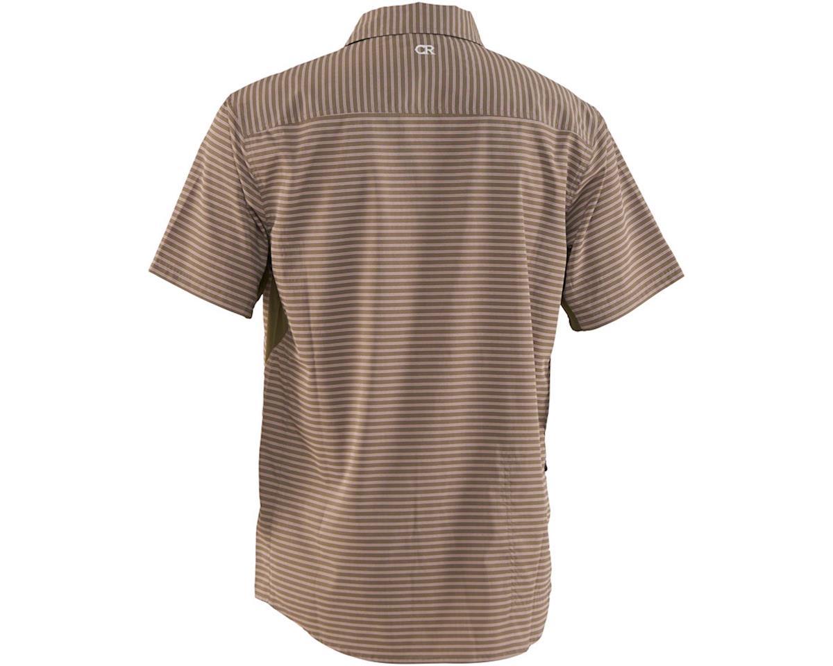 Image 2 for Club Ride Apparel Men's Vibe Short Sleeve Shirt (Grey Stripe) (S)