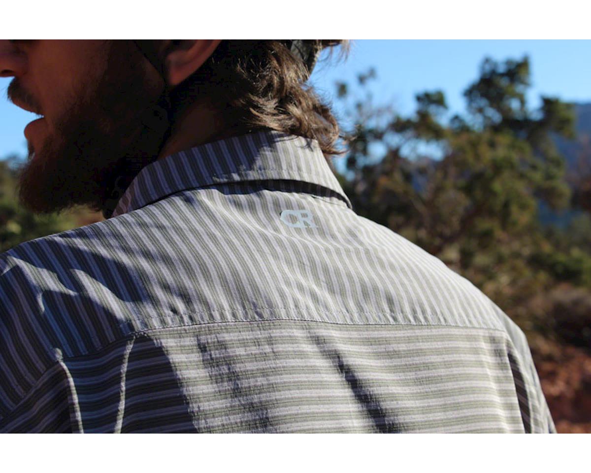 Image 4 for Club Ride Apparel Men's Vibe Short Sleeve Shirt (Grey Stripe) (S)
