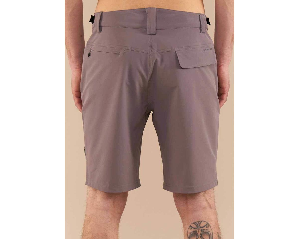 Image 2 for Club Ride Apparel Men's Bypass Short (Grey) (L)