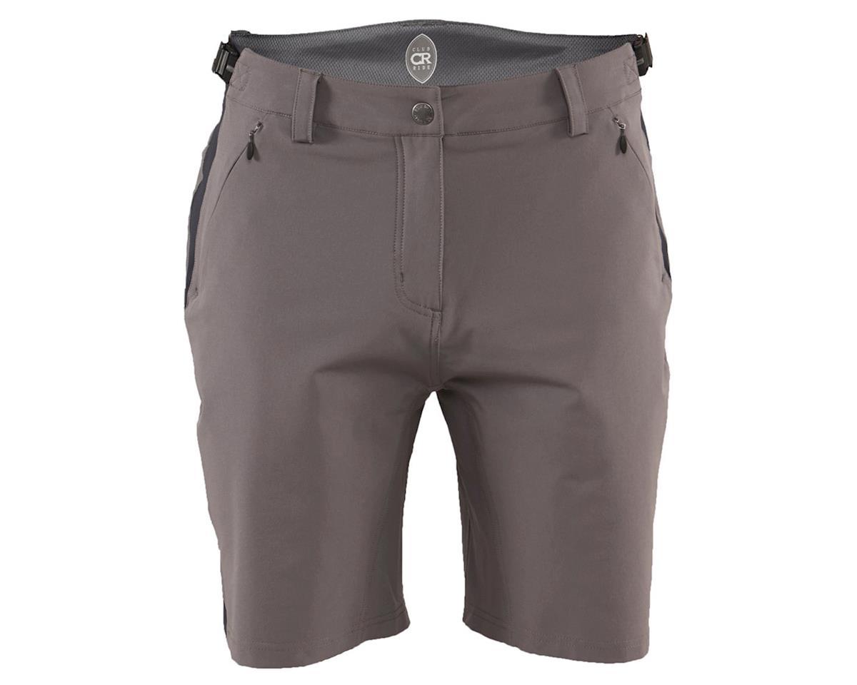 Club Ride Apparel Men's Bypass Short (Grey) (2XL)