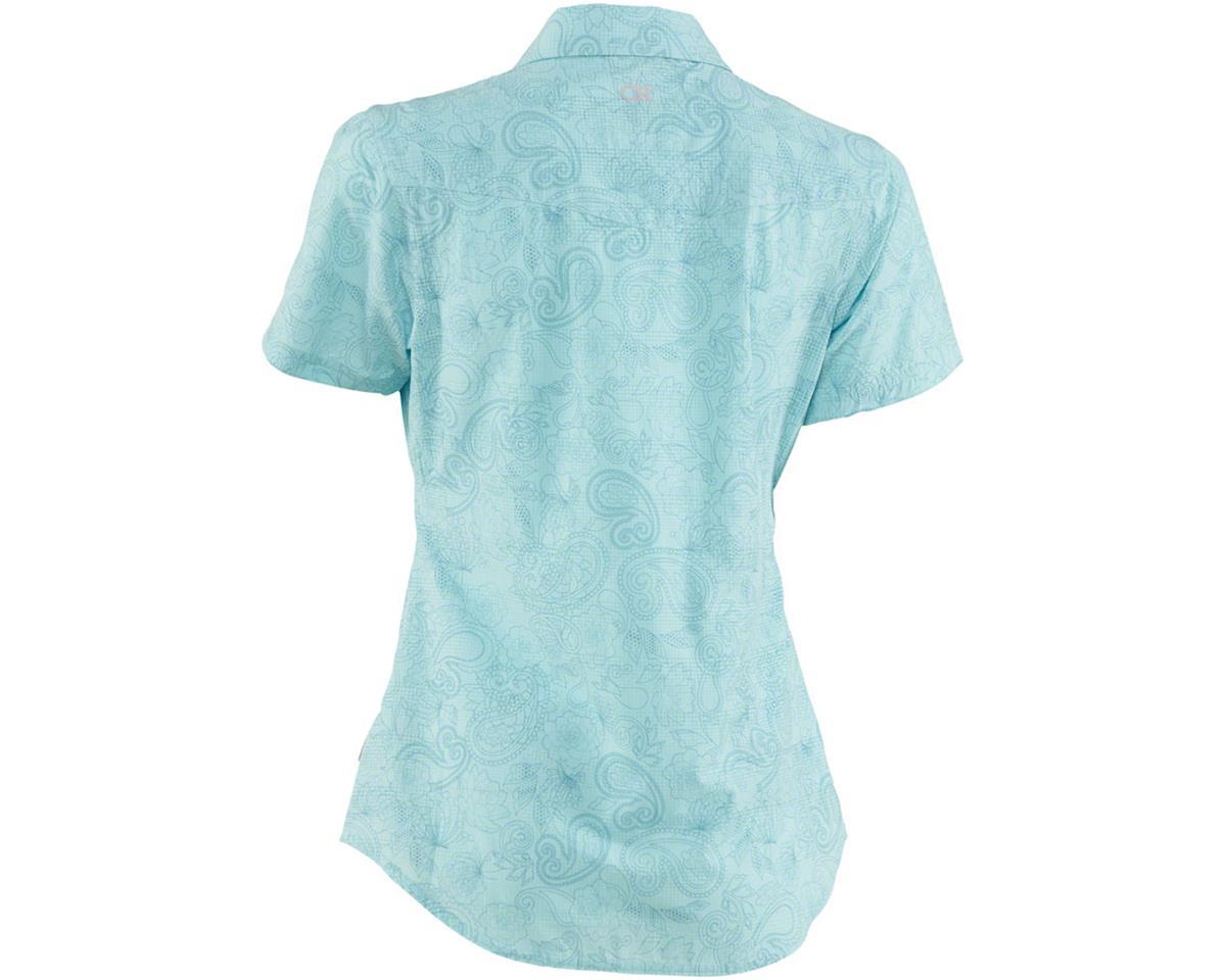 Image 2 for Club Ride Apparel Women's Camas Short Sleeve Jersey (Angel Blue Print) (S)