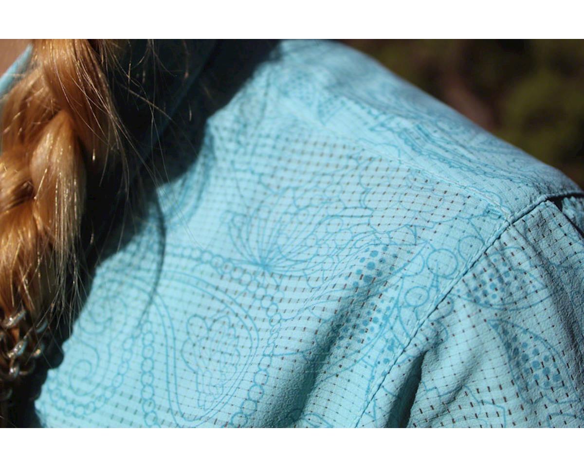 Image 4 for Club Ride Apparel Women's Camas Short Sleeve Jersey (Angel Blue Print) (S)