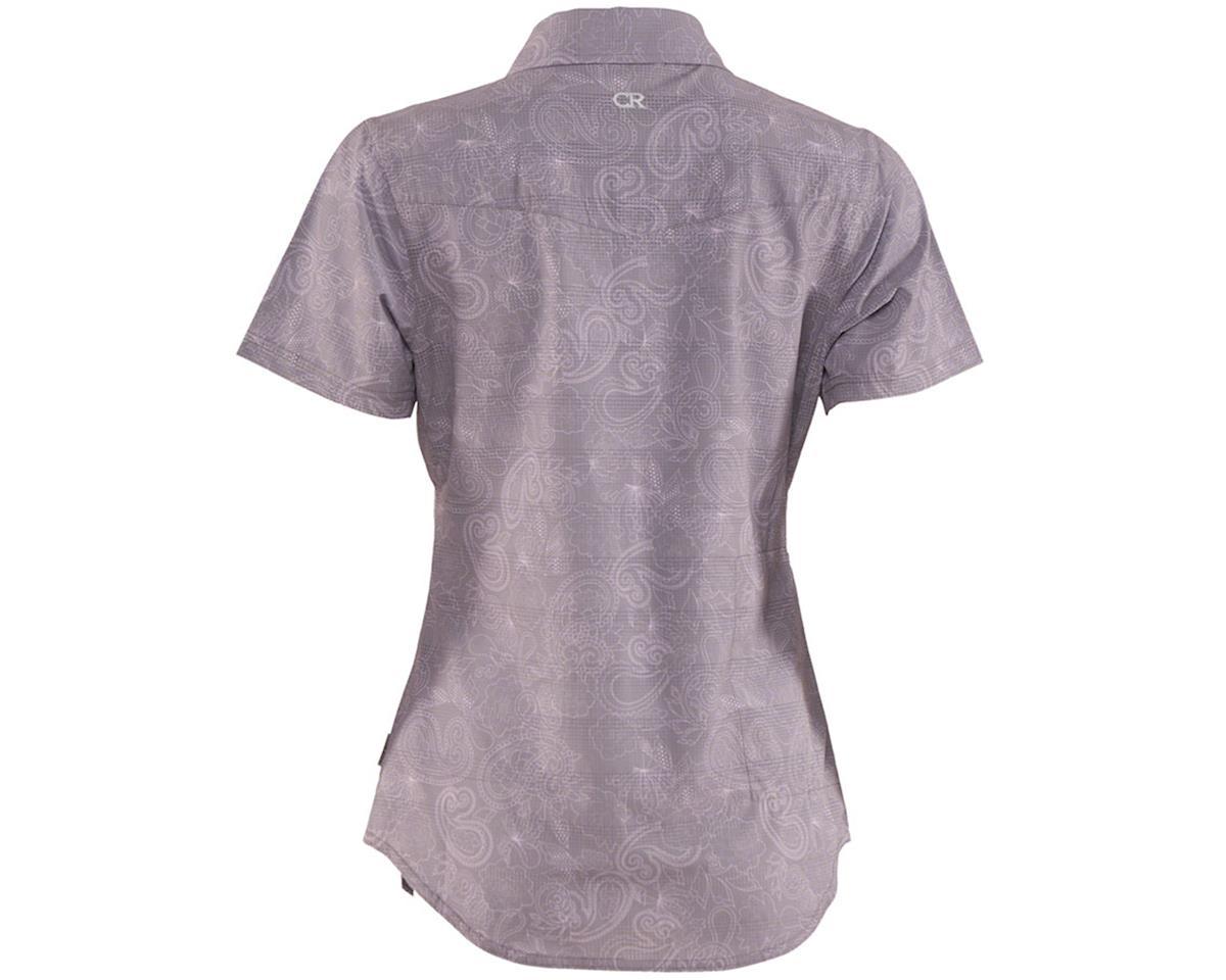 Image 2 for Club Ride Apparel Women's Camas Short Sleeve Jersey (Steel Print) (XL)
