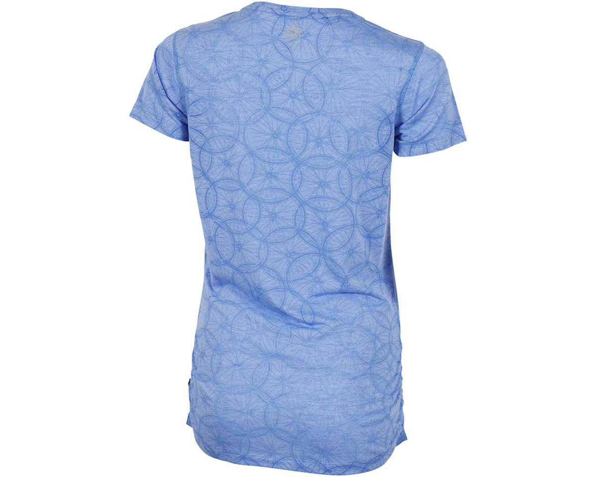Club Ride Apparel Women's Wheel Cute Top (Glacier Blue) (S)