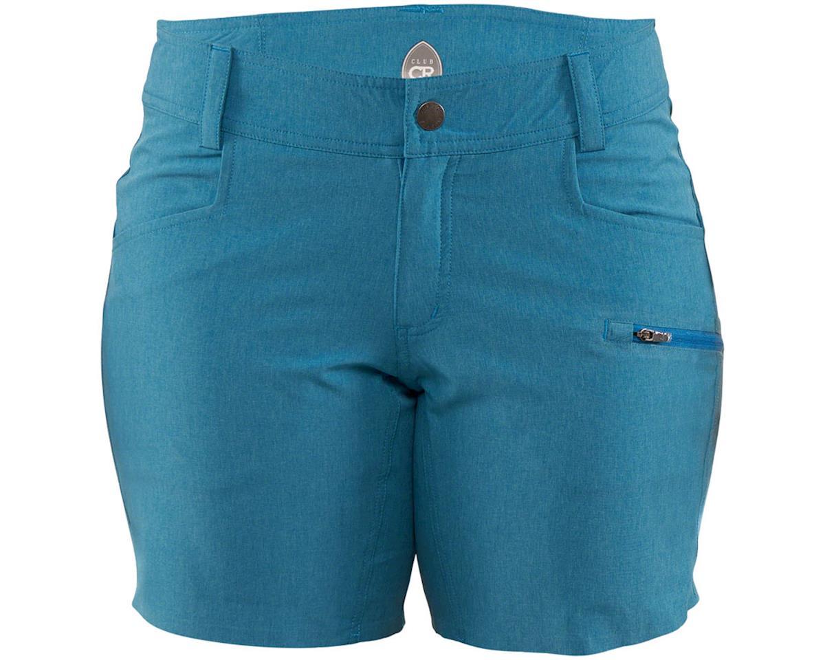 Image 1 for Club Ride Apparel Eden Women's Short (Chamois) (Sea Port Blue) (XL)
