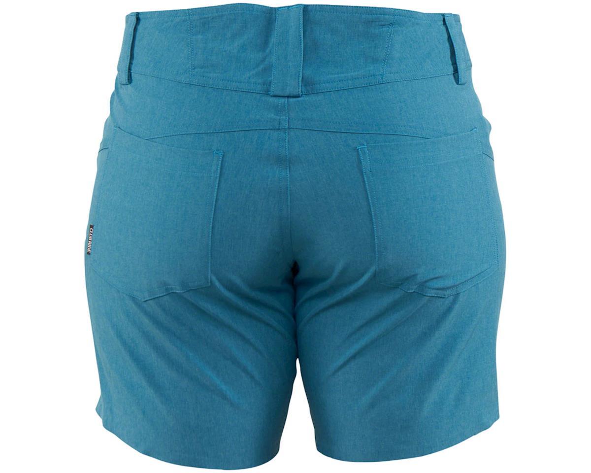 Image 2 for Club Ride Apparel Eden Women's Short (Chamois) (Sea Port Blue) (XL)