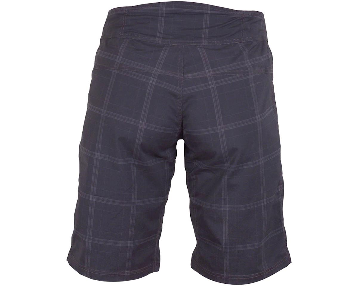 Club Ride Apparel Women's Ventura Short (Black Plaid) (L)