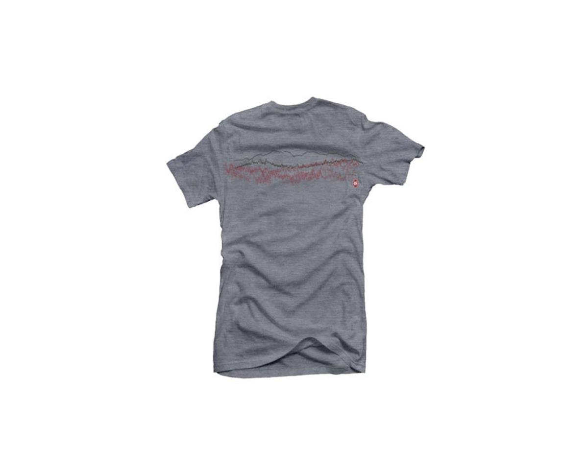 Club Ride Apparel Women's Saw Graphic Tee (Heathered Grey) (L)