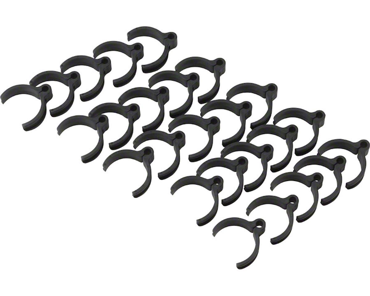 Cobra Ties Flex Route Cable Guides, Black, Bag of 25