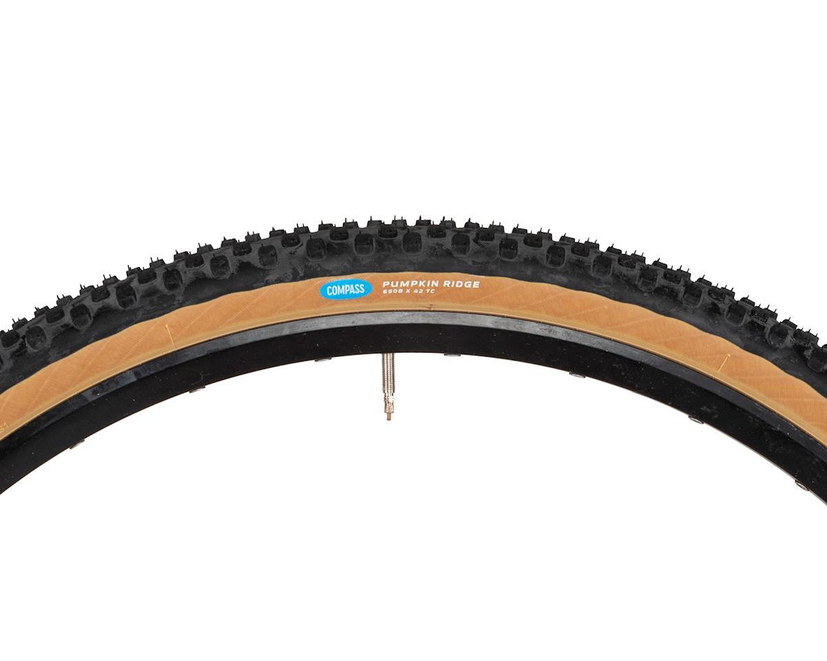 Rene Herse Pumpkin Ridge Tire (Tan Sidewall) (Standard Casing) (650B x 42)