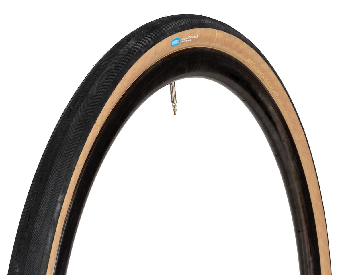 Rene Herse Bon Jon Pass Tire (Tan Sidewall) (Standard Casing) (700 x 35)