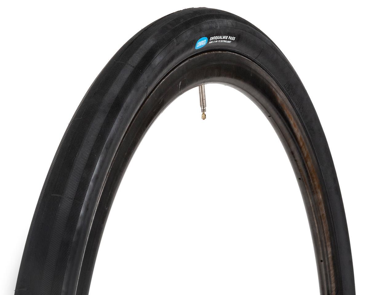 Rene Herse Snoqualmie Pass Tire (Black) (Extralight Casing) (700C x 44)