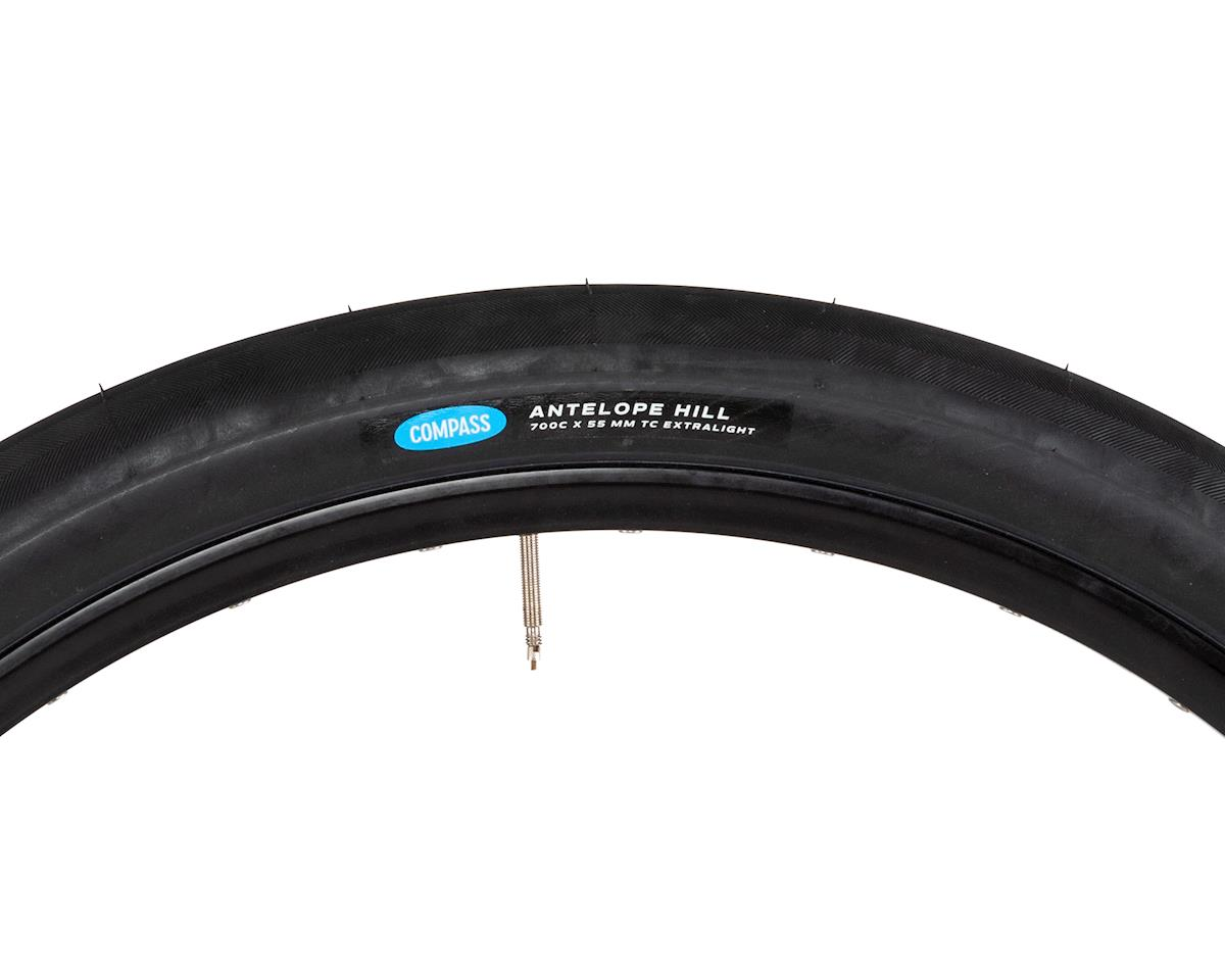Image 3 for Rene Herse Antelope Hill Tire (Black) (Extralight Casing) (700Cx55)