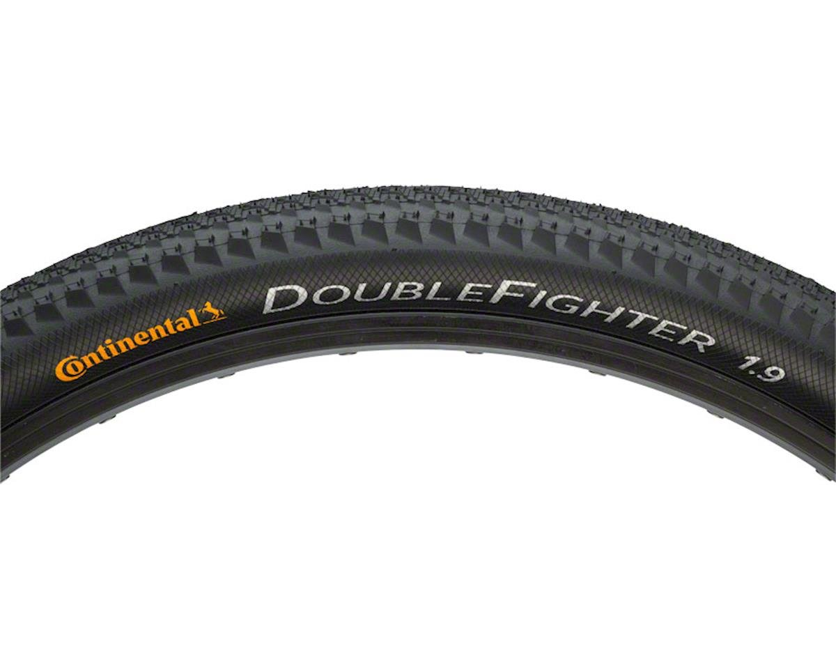 """Continental Double Fighter III 26 x 1.9/"""" Black"""