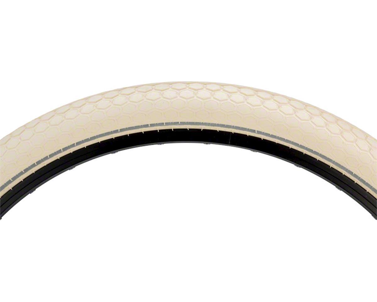 Continental Retro Ride Tire - 26 x 2.0, Clincher, Wire, Cream, Ebike