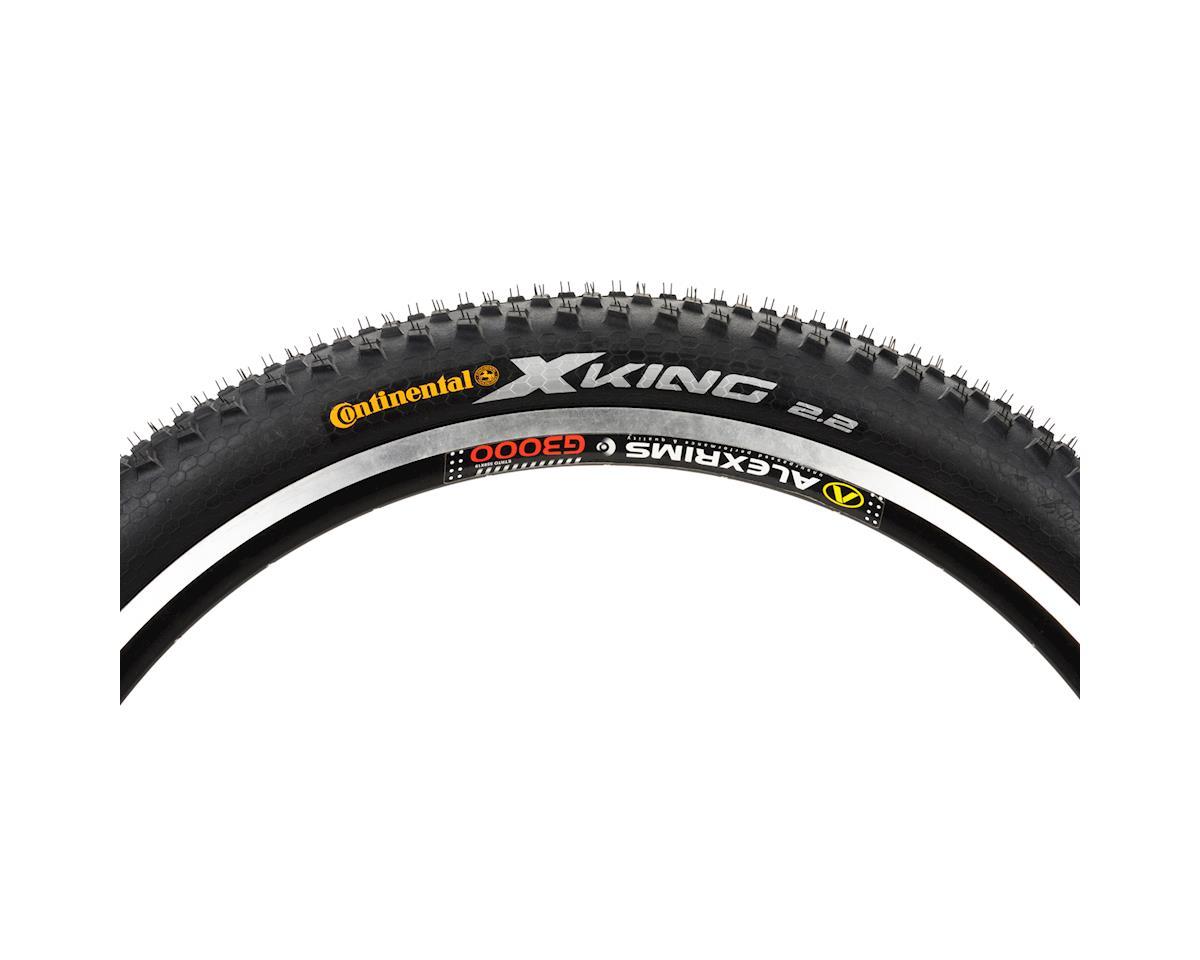 "Continental 26"" X-King Performance Mountain Tire (Black) (26 X 2.2)"
