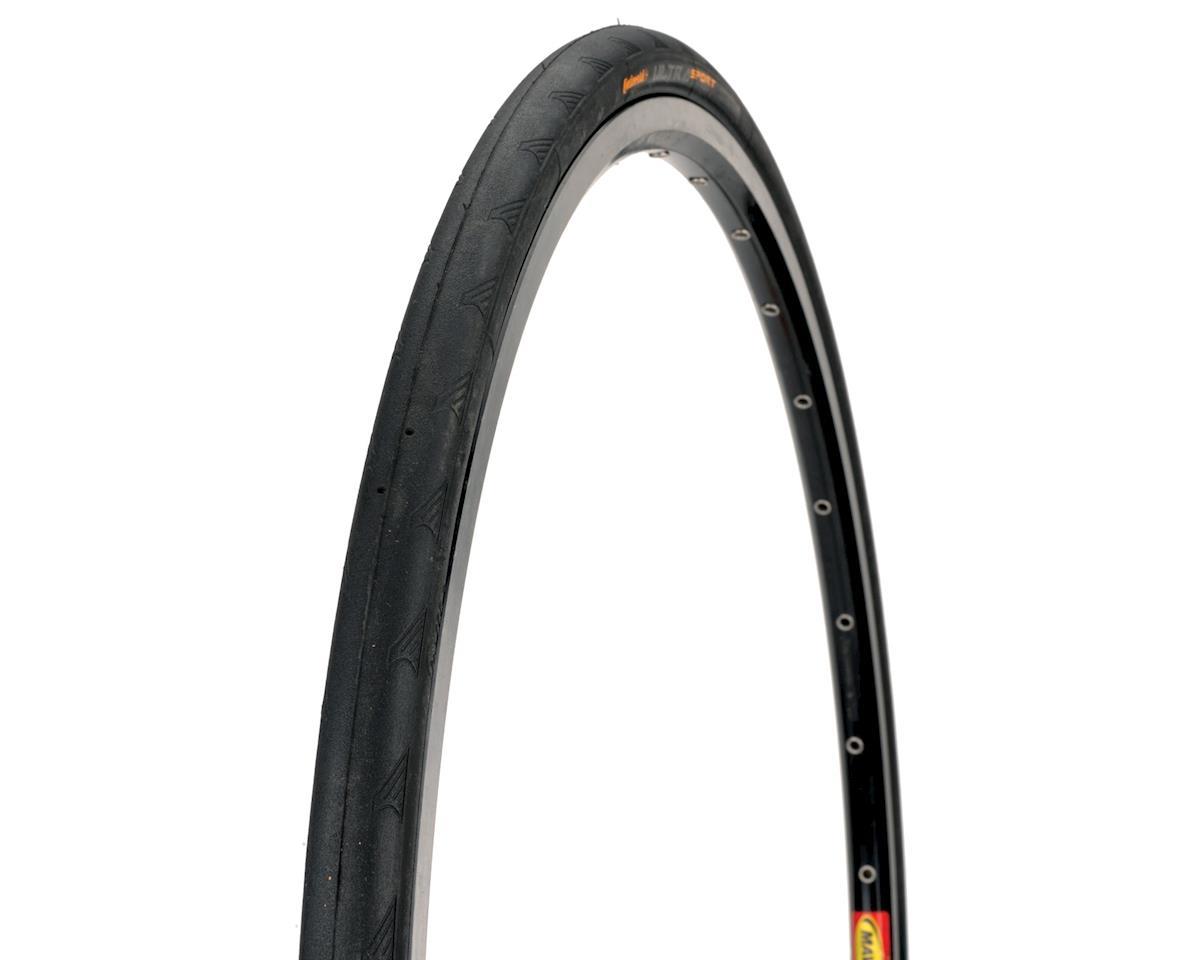 Continental Ultra Sport II Road Tire (Black) (27X1 1/8)