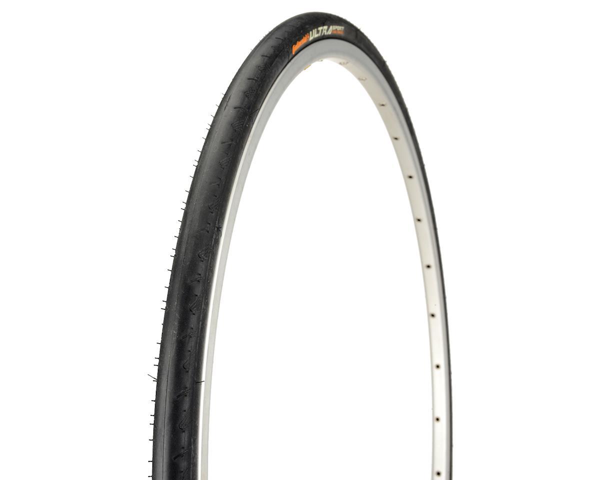 Continental Ultra Sport II Tire Steel Bead (Black) (700 x 23)