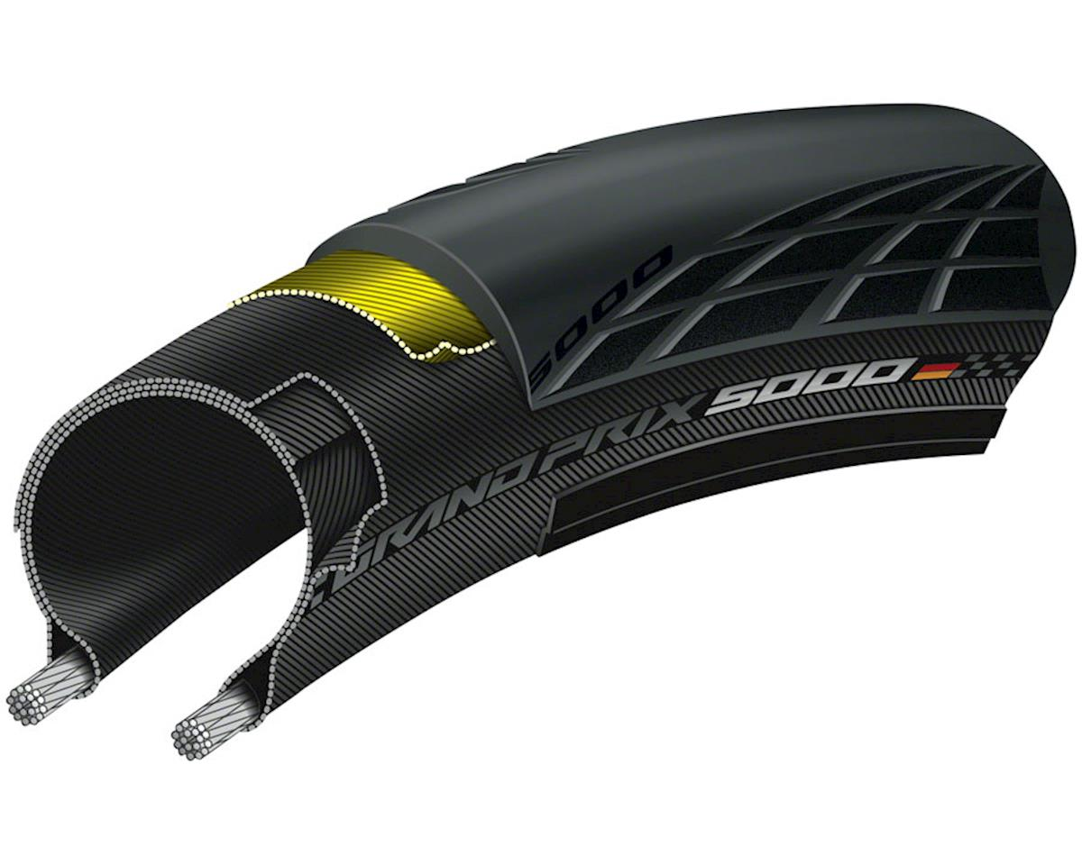 Continental Grand Prix 5000 TL Tubeless Tire (Black) (700 x 28)