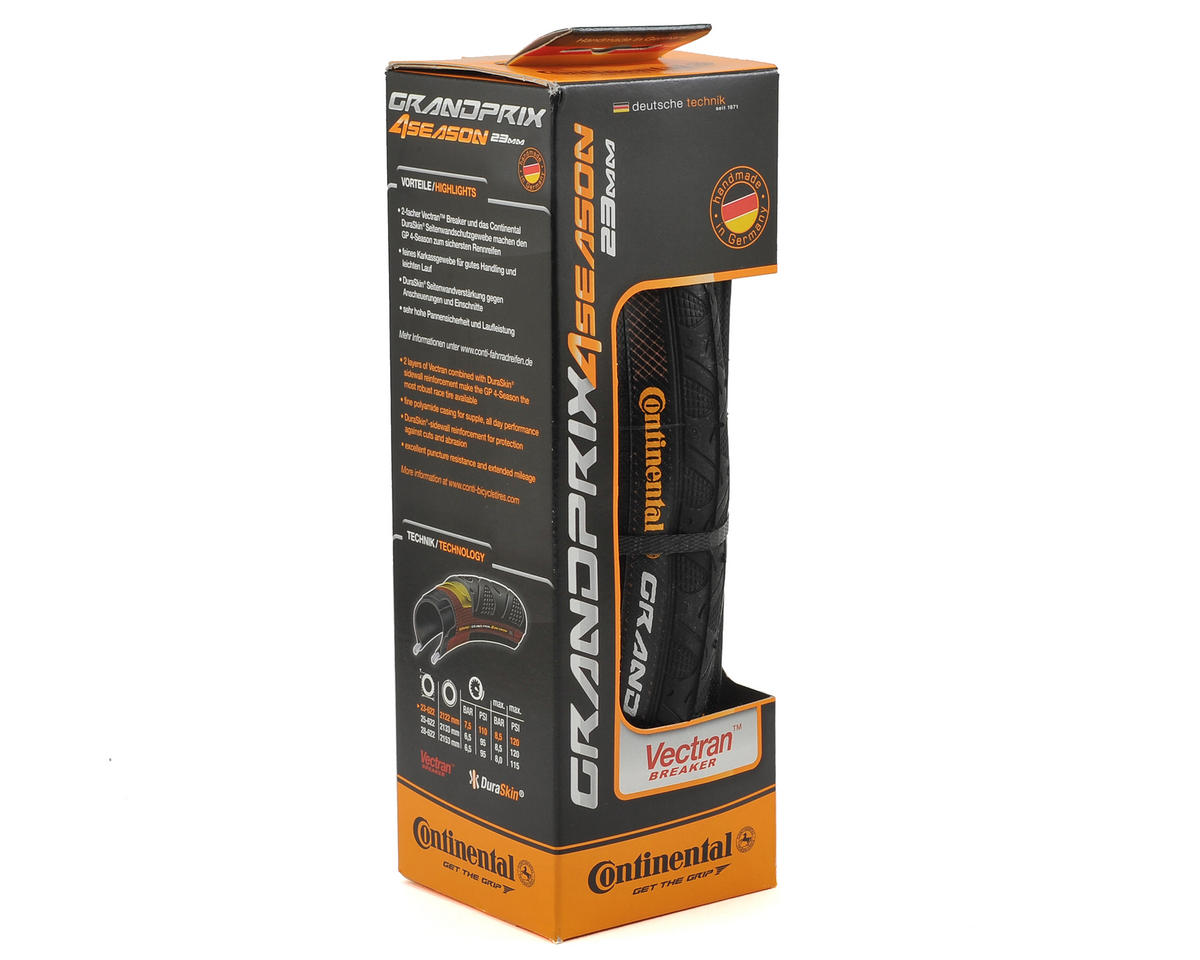 Continental Grand Prix 4-Season Tire (Duraskin) (Folding) (700 x 23)
