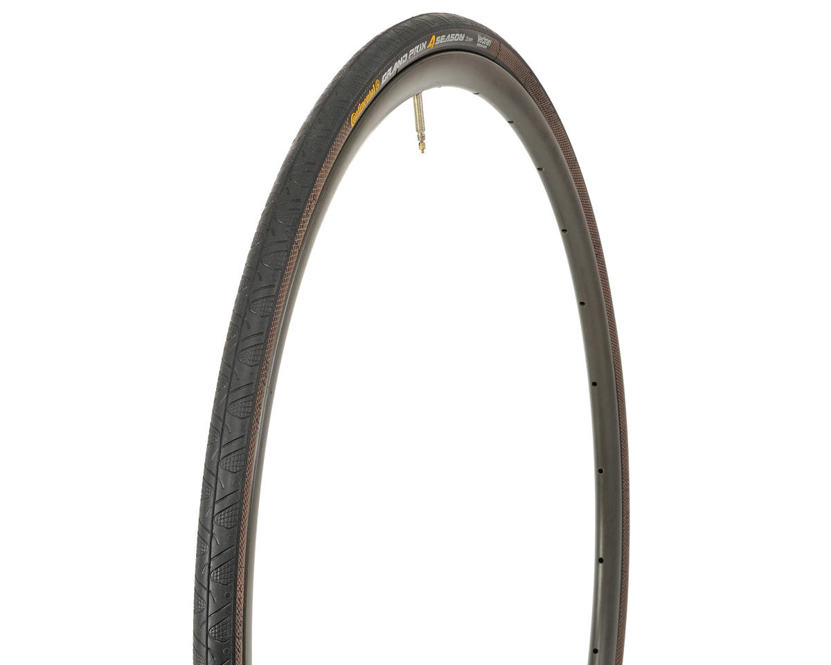 Continental Grand Prix 4-Season Tire (Duraskin) (Folding) (700 x 25)