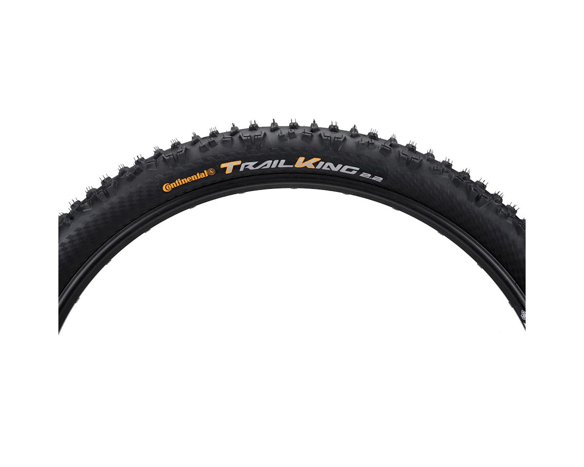 Continental Trail King Tire 27.5x2.2  ProTection Folding Bead and Black Chili Ru