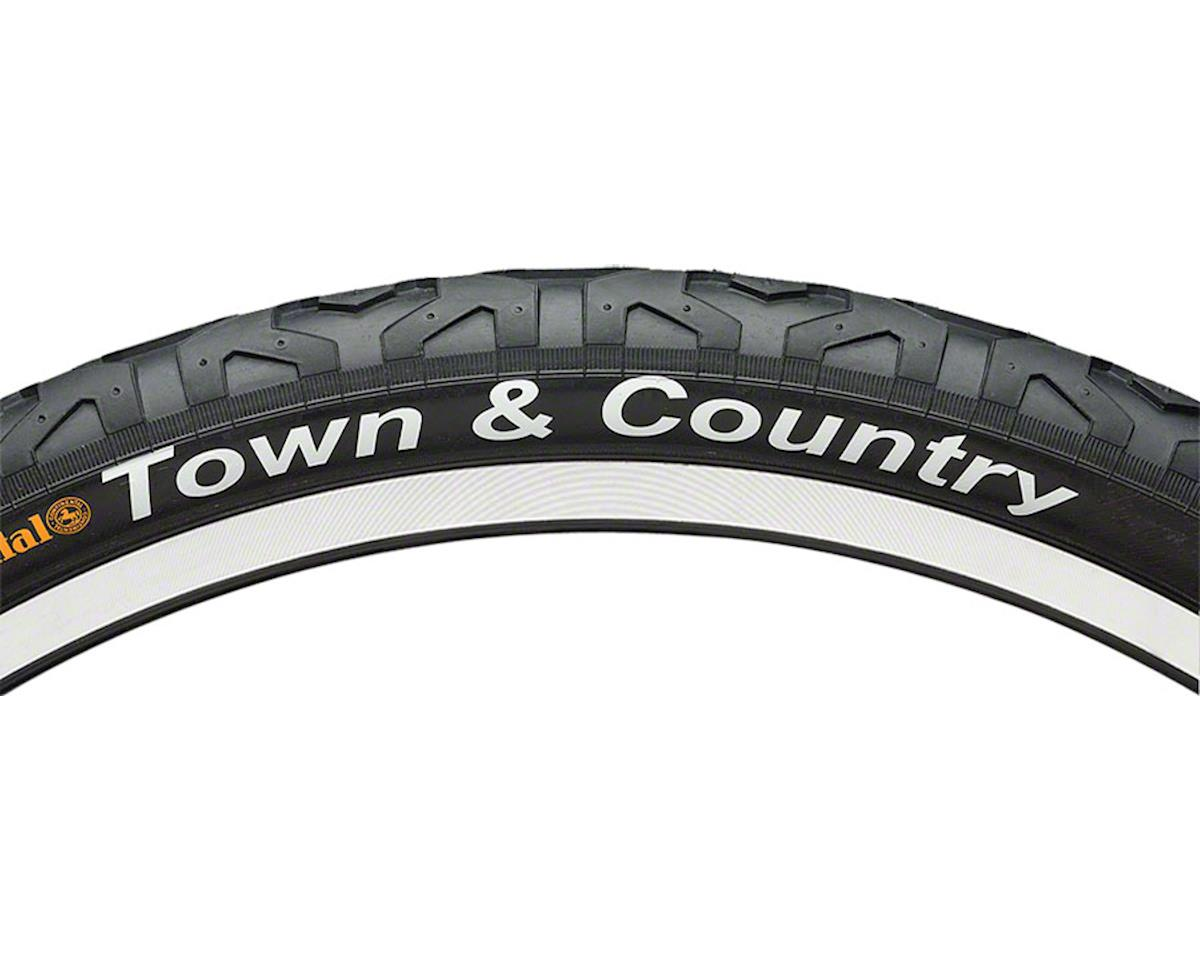 """Continental Town & Country Tire 26x2.1"""" Black"""