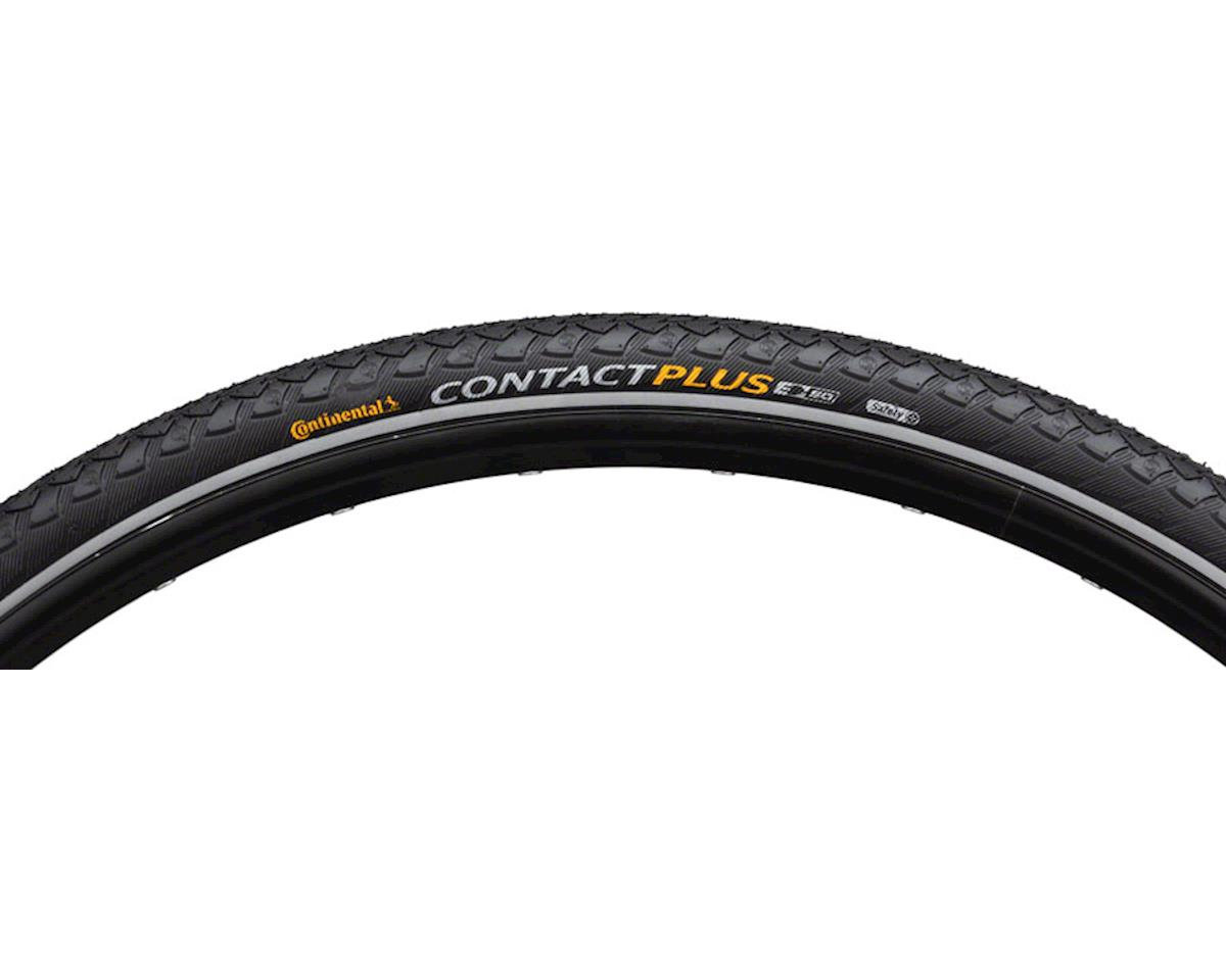 Continental Contact Plus Road Tire (Black/Reflex) (700 x 37)