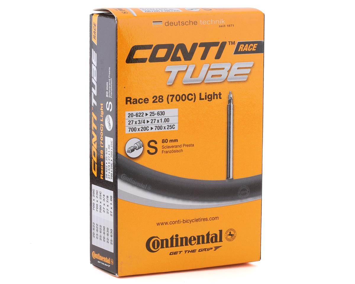 Continental 700c Light Presta Valve Tube - 80mm (700X18-25)