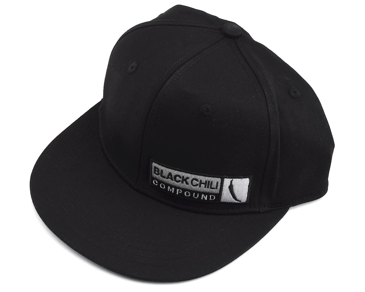 Image 1 for Continental Black Chili Flatbill Hat (Black) (S/M)
