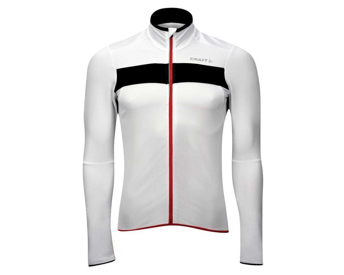 Craft Performance Bike Light Thermal Long Sleeve Jersey (White)