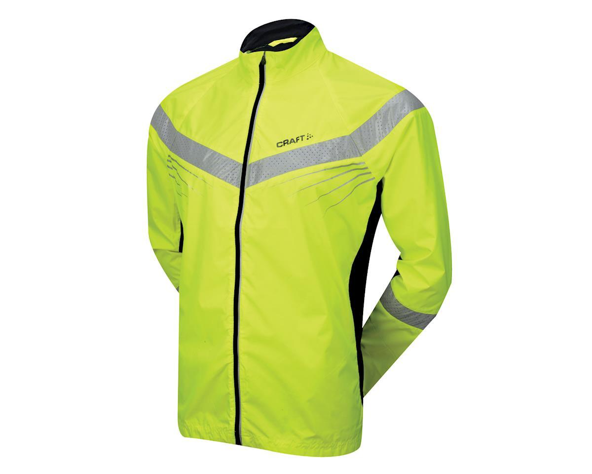 Craft Performance Run Brilliant Jacket (Hi-Vis Yellow)