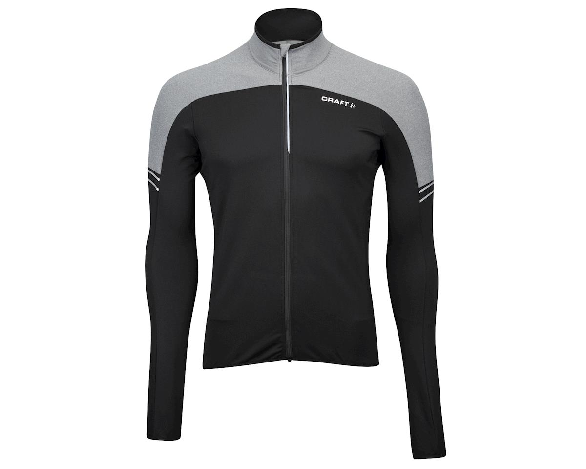 Craft Velo Thermal Long Sleeve Jersey (Black/Grey)